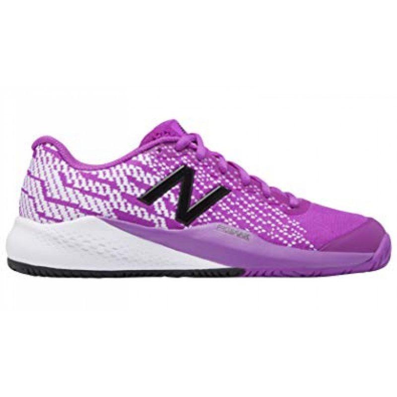newest 32869 b0973 New Balance 996j3 Womens Tennis Shoes Purple/White