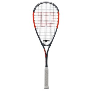3 Balls RRP £115 Wilson Hammer Team Squash Racket Cover