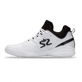 Salming Kobra Mid 3 Squash Shoe – White/Black