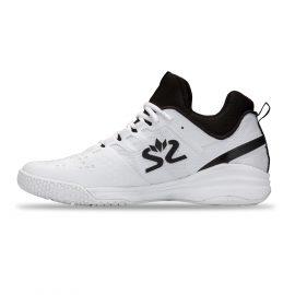 Salming Kobra Mid 3 Squash Shoe – White/Black