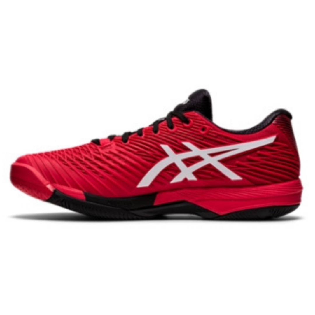 ASICS Solution Speed FF 2 Men's Tennis Shoe – Electric Red/White
