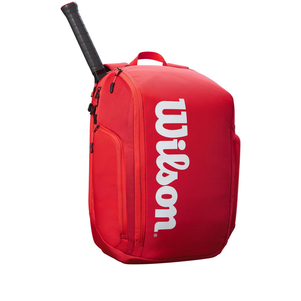 Wilson Super Tour Backpack – Red/White