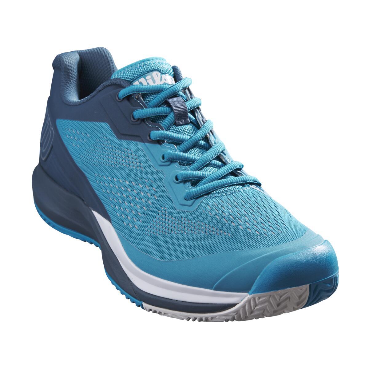 Wilson Rush Pro 3.5 AC Mens Tennis Shoes – Barrier Reef/Majolica Blue/White