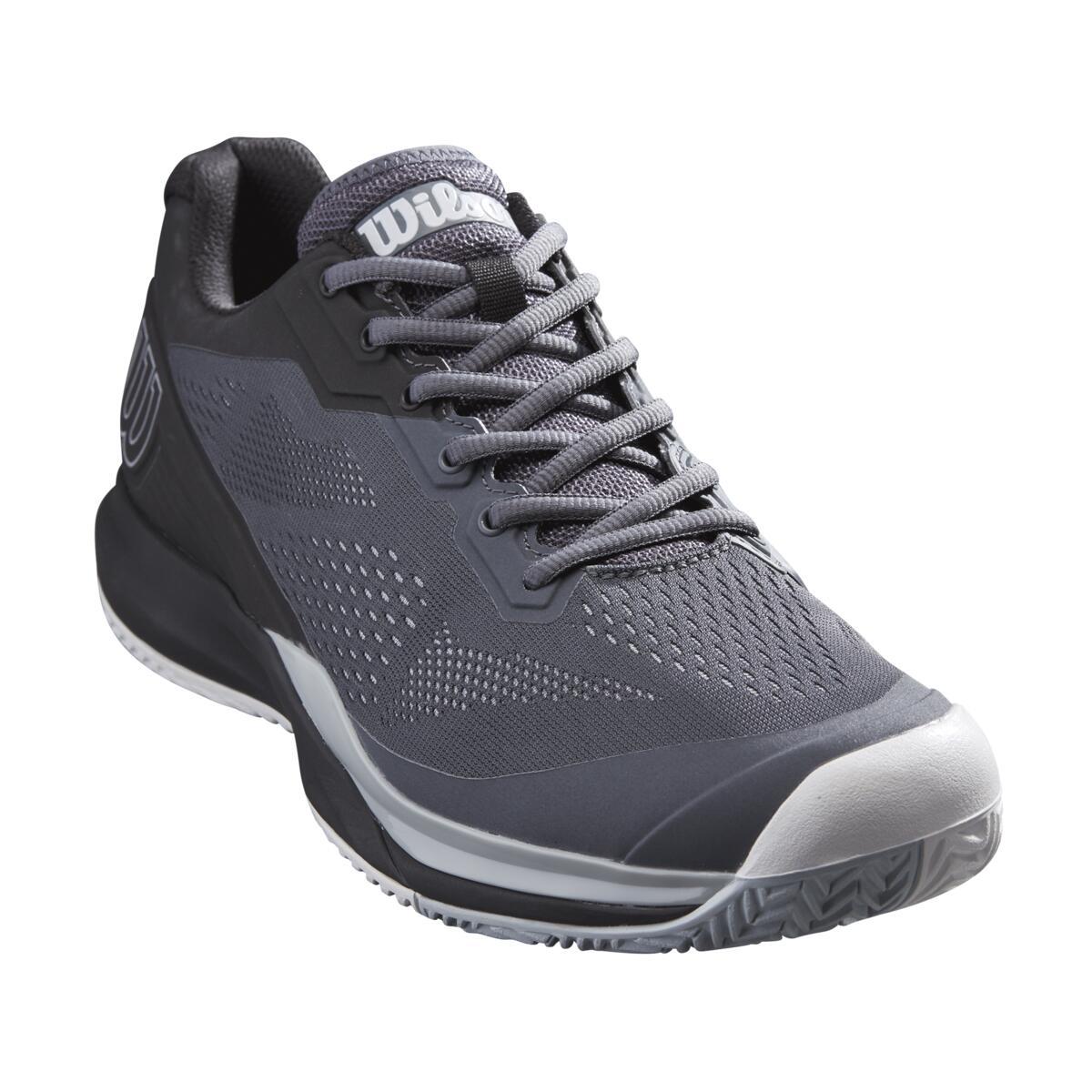 Wilson Rush Pro 3.5 AC Mens Tennis Shoes – Turbulence/Black/Pearl Blue