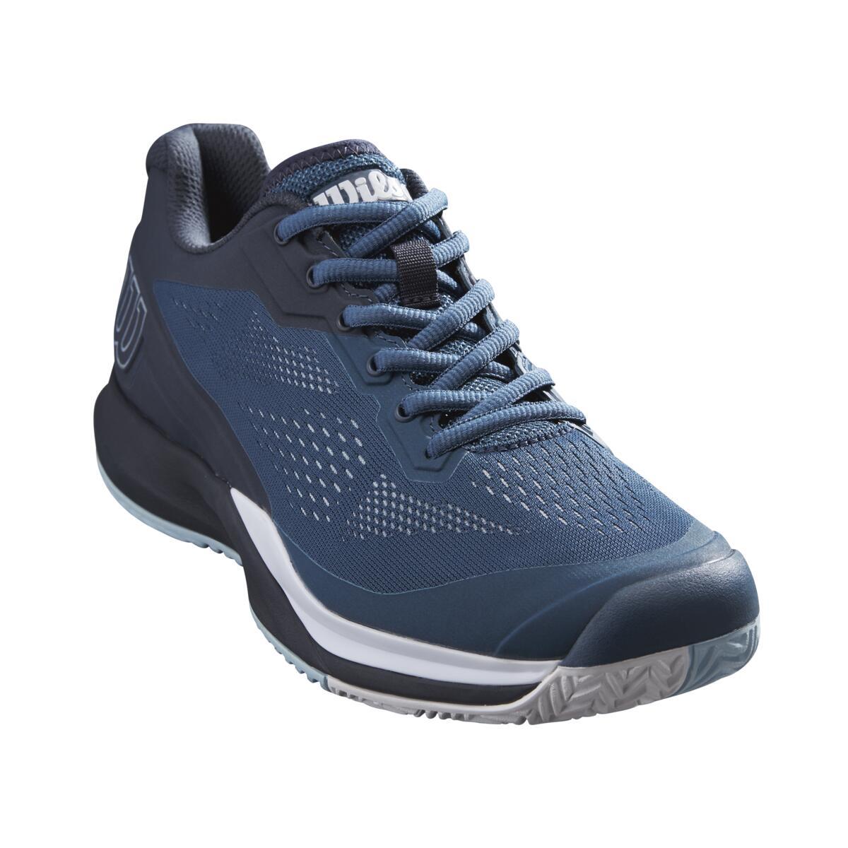 Wilson Rush Pro 3.5 Womens Tennis Shoe – Majolica Blue/Outer Space/White