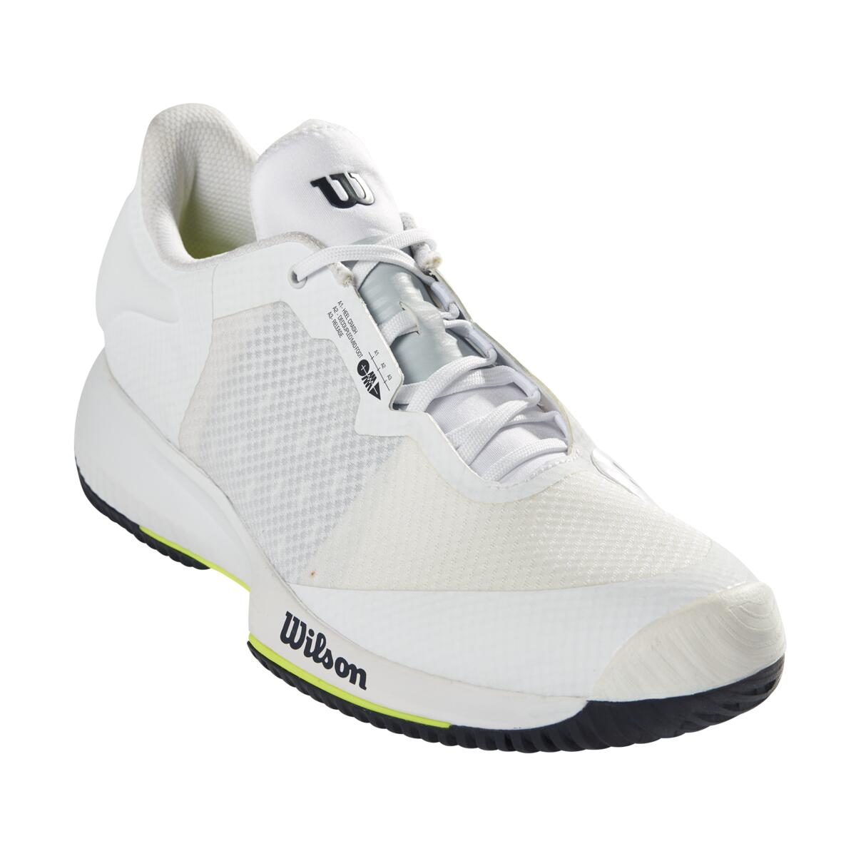 Wilson Kaos Swift AC Mens Tennis Shoes – White/Outer Space
