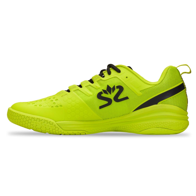 Salming Kobra 3 Squash Shoe – Lime Punch/Black