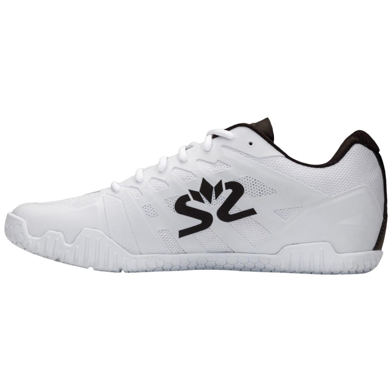 Salming Hawk 2 Squash Shoe – White/Black