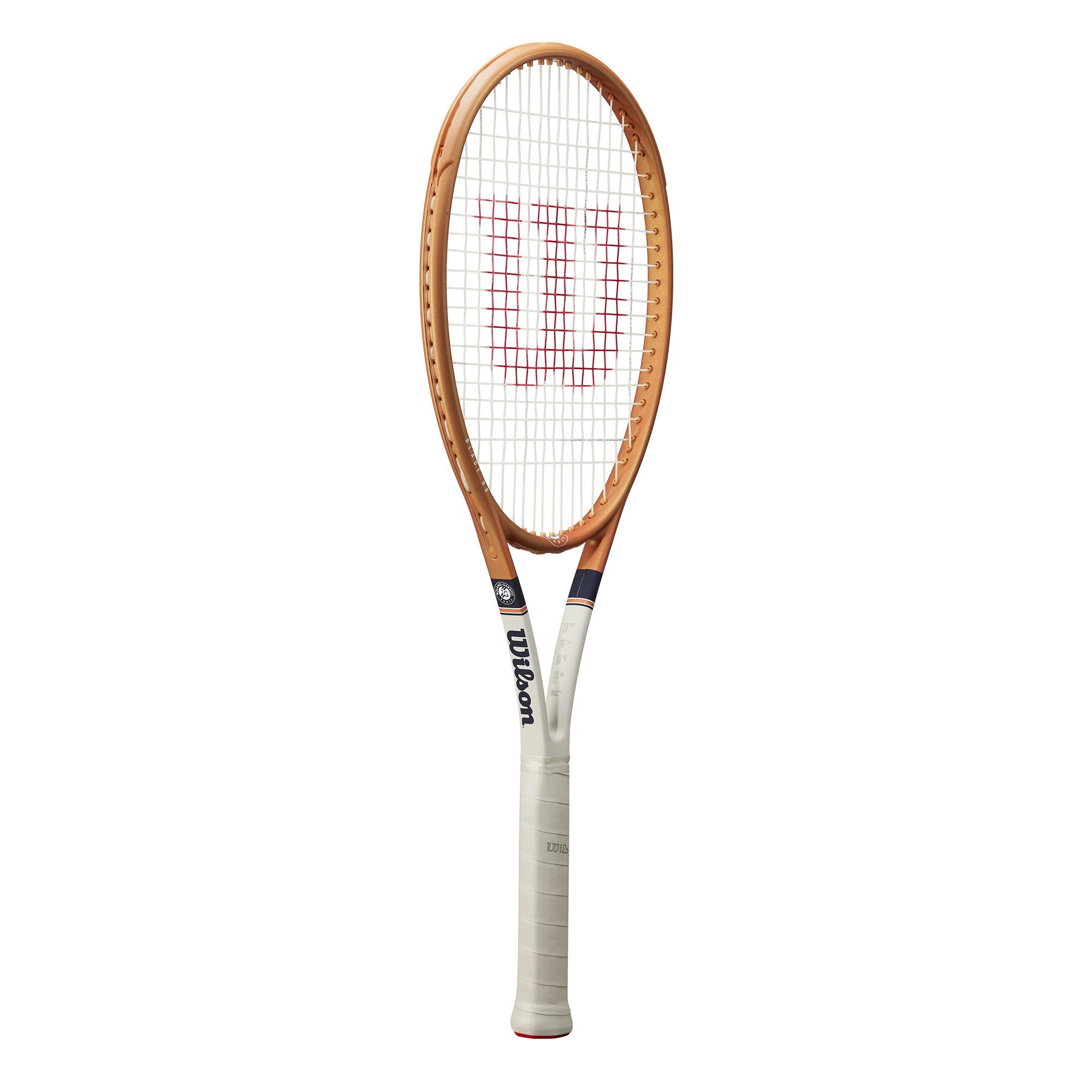 Wilson Blade 98 16/19 v7 Tennis Racquet – Roland Garros