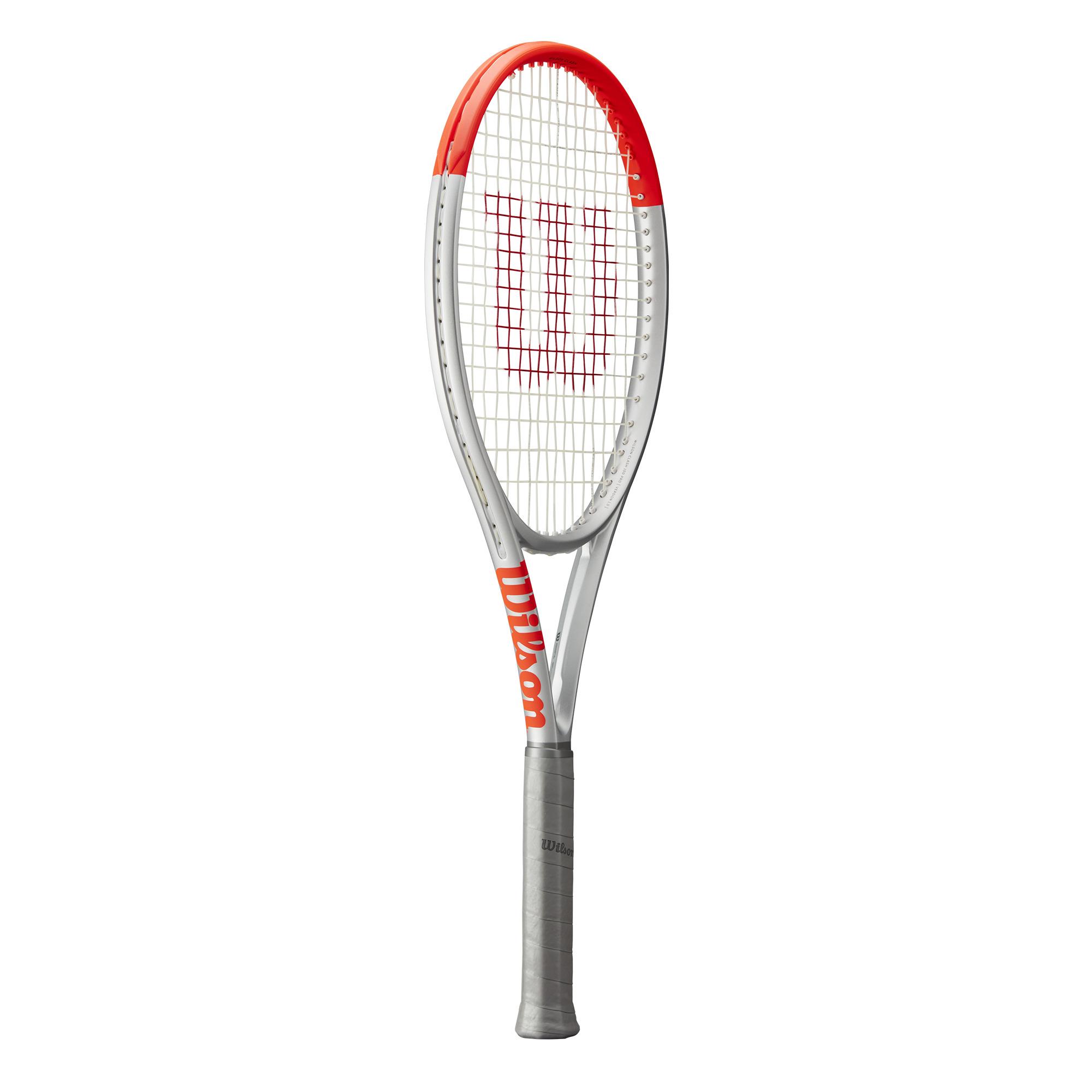 Wilson Clash Pro Tennis Racquet – Silver