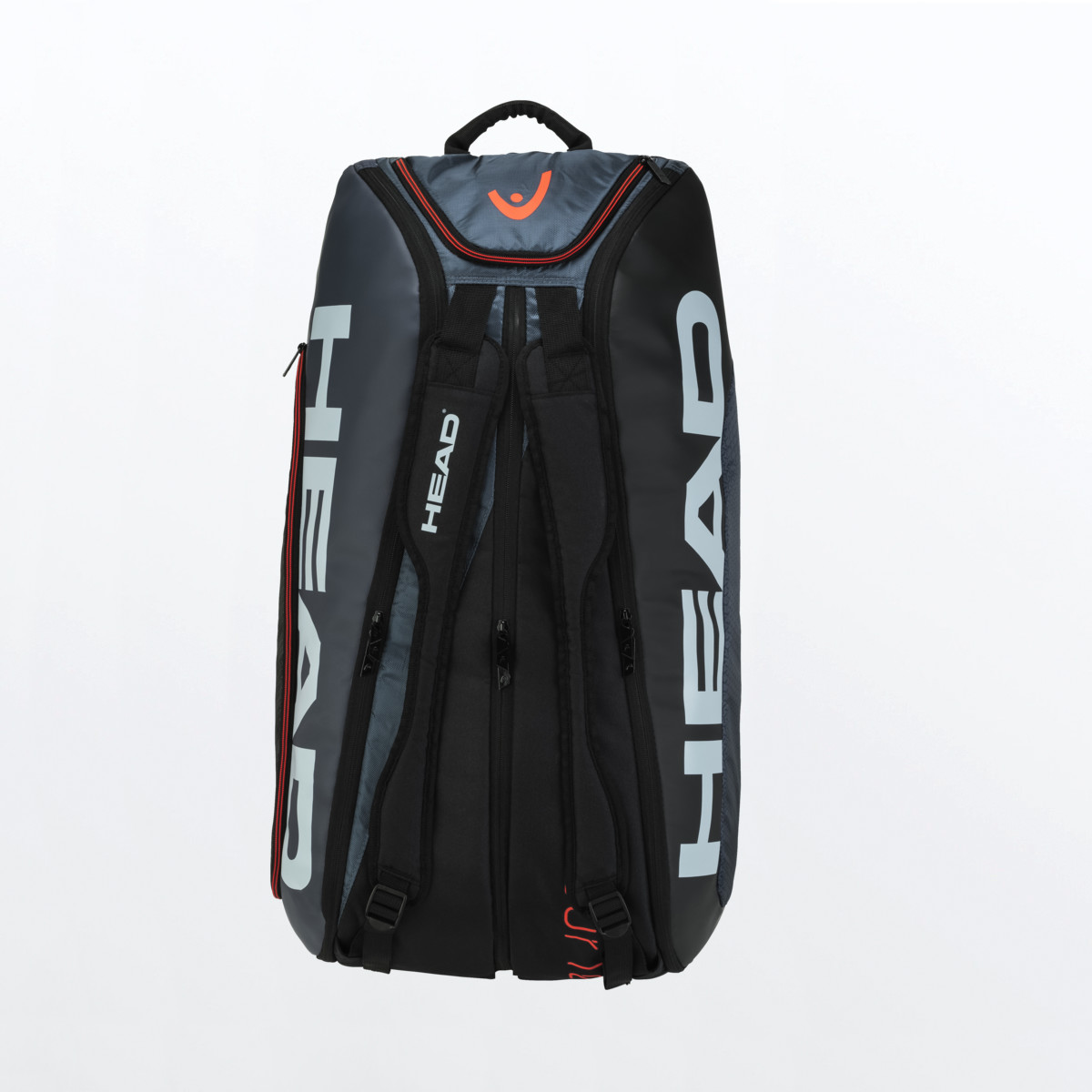 Head Tour Team 12R Monstercombi Tennis Bag – Black/Grey
