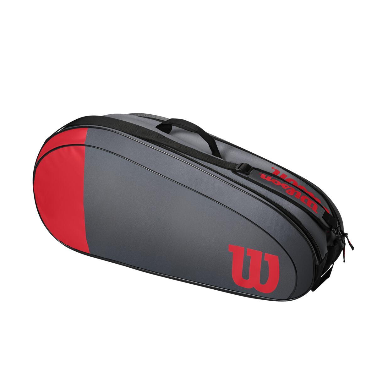 Wilson Team 6 Pack Bag – Red/Grey