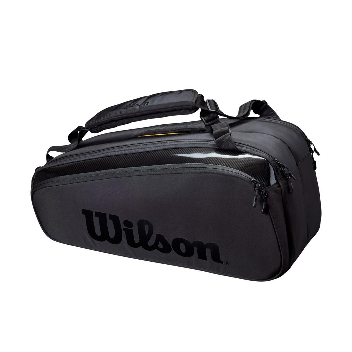 Wilson Super Tour 9 Pack Tennis Bag – Black 2021