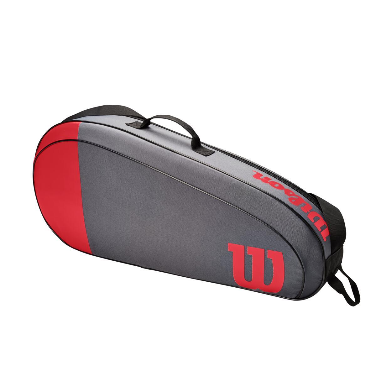 Wilson Team 3 Pack Bag – Red/Grey