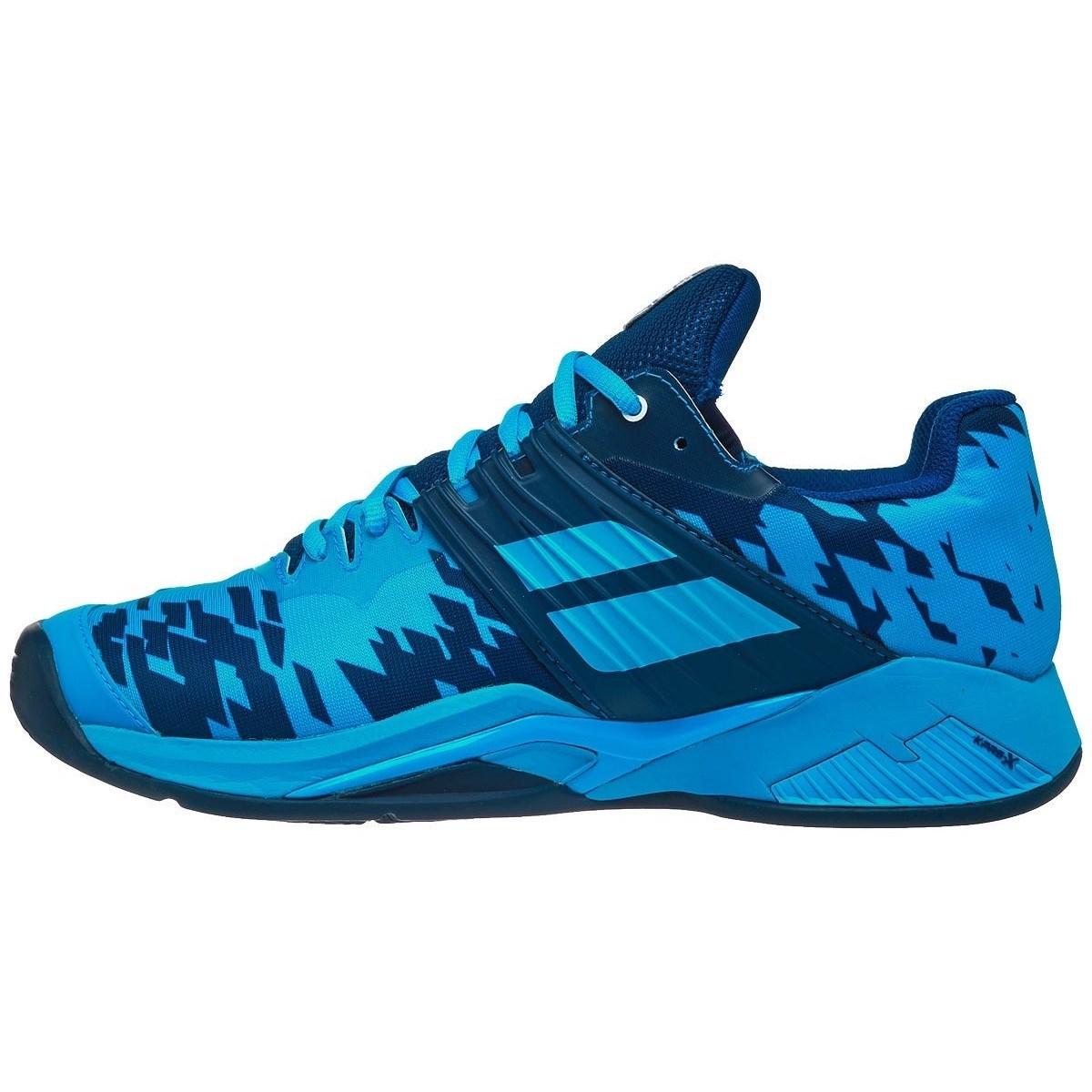 Babolat Propulse Fury Clay Mens Tennis Shoes- Blue/Navy