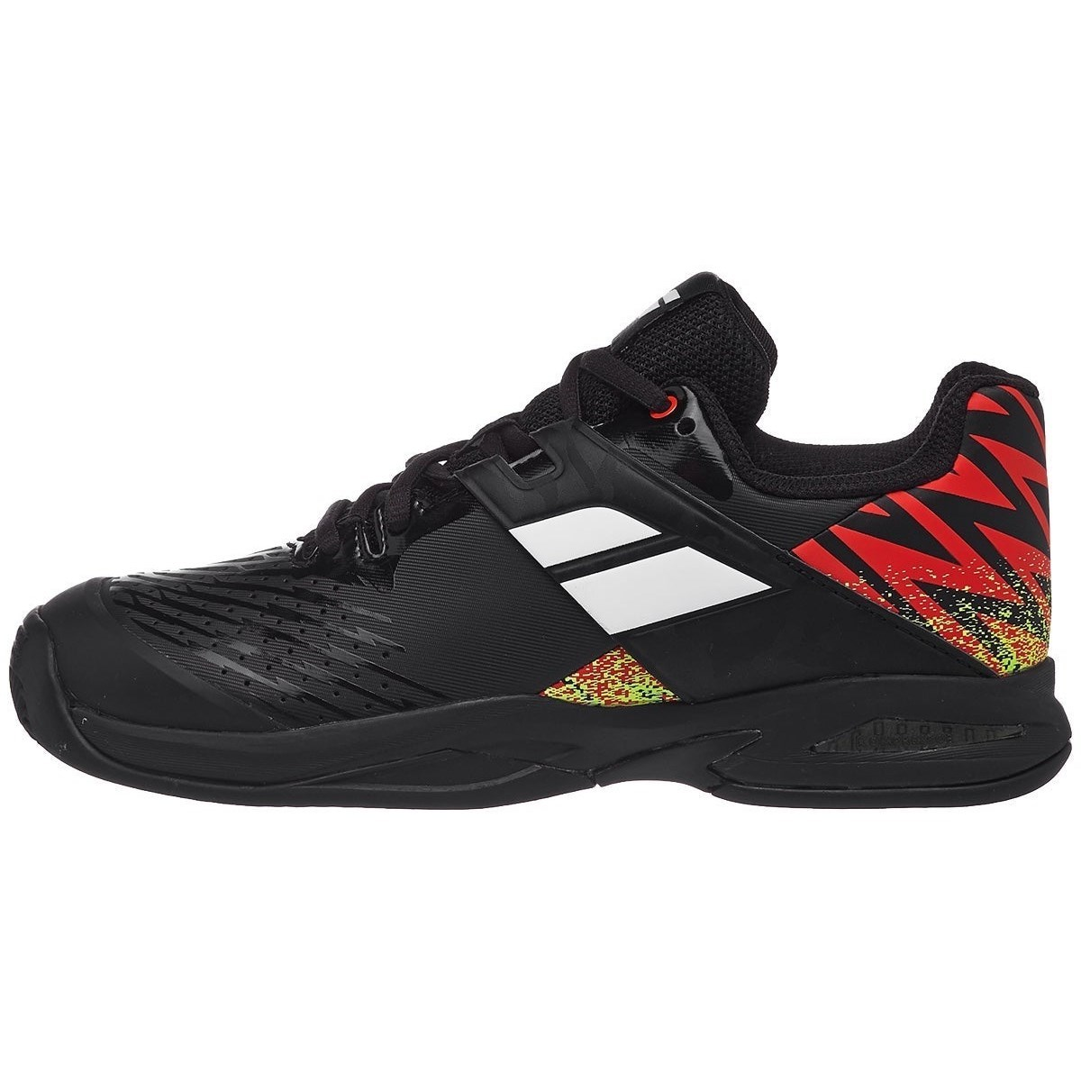 Babolat Propulse Clay Kids Tennis Shoes – Black/White/Red