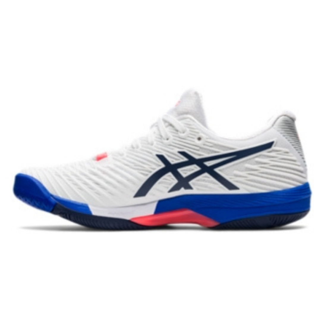Asics Solution Speed FF 2 Womens Tennis Shoes – White/Peacoat
