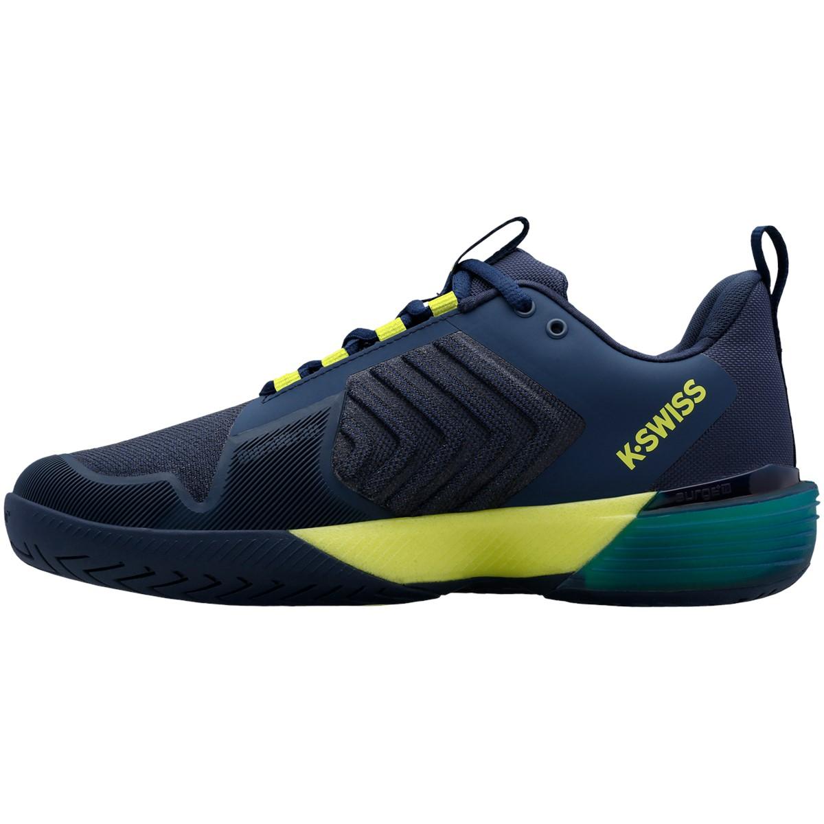 K-Swiss Ultrashot 3 Mens Tennis Shoes – Moonlit Ocean/Love Bird