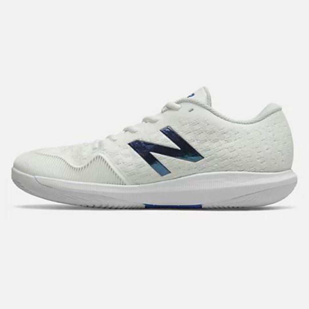 New Balance 996Z4 Men's Tennis Shoe – White/Blue