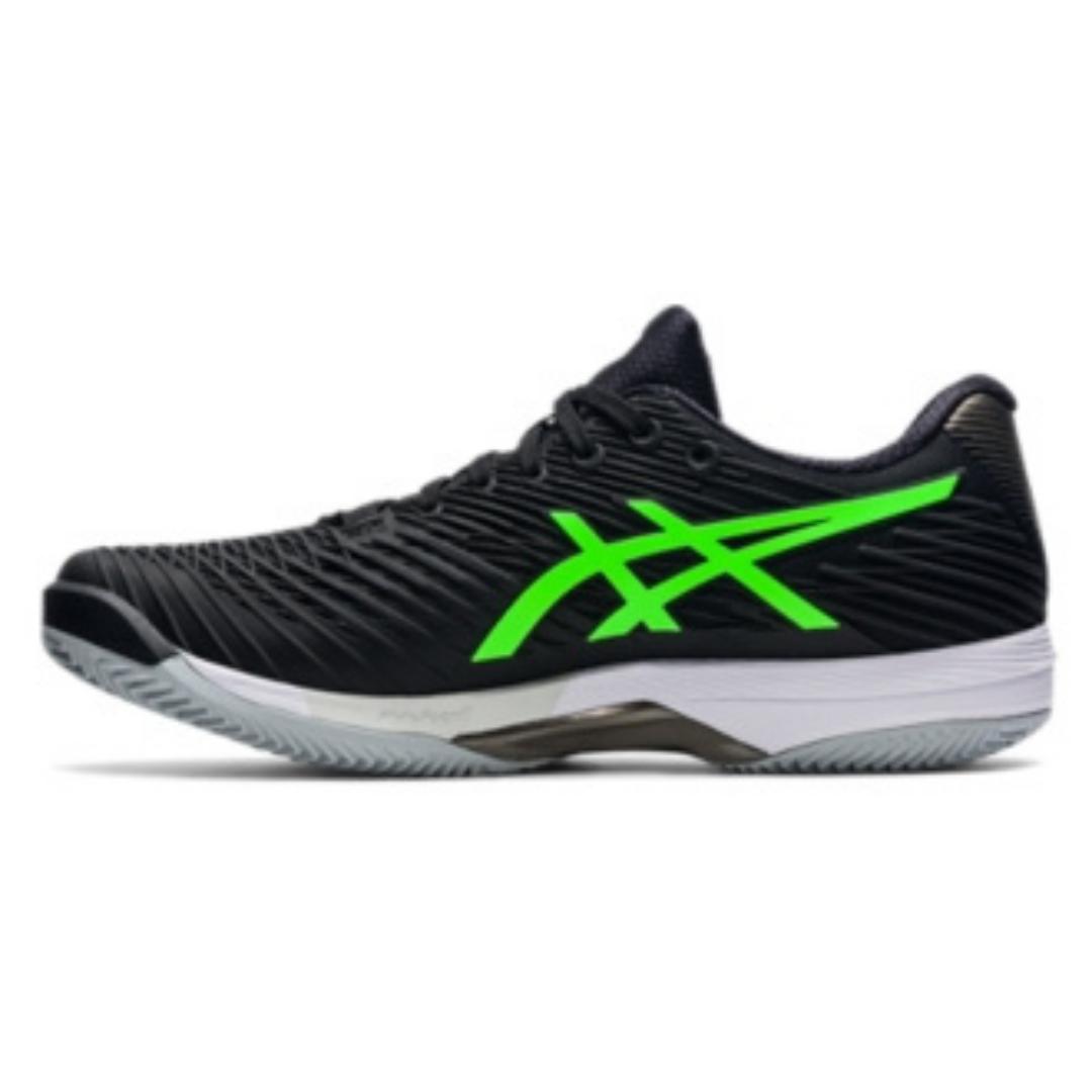 ASICS Court FF 2 Men's Tennis Shoe – Black/Gecko Green