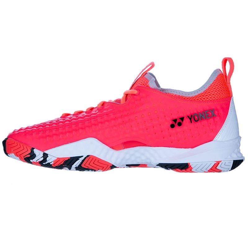 Yonex FusionRev 4 Mens Tennis Shoes – Red/White
