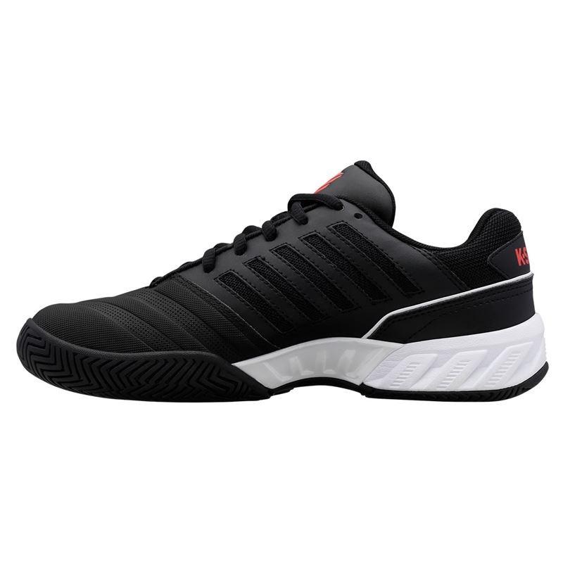 K-Swiss Bigshot Light 4 Mens Tennis Shoes – Black/White