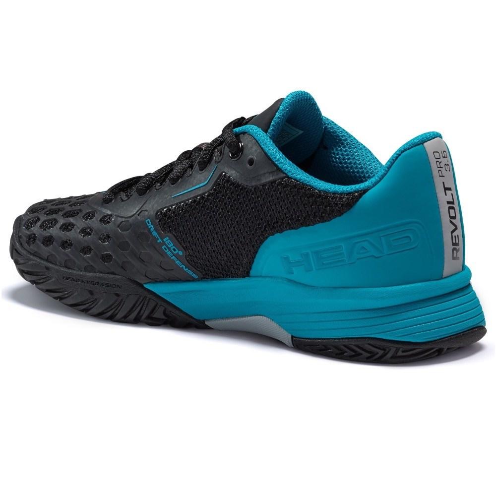 Head Revolt Pro 3.5 Kids Tennis Shoes – Black/Blue