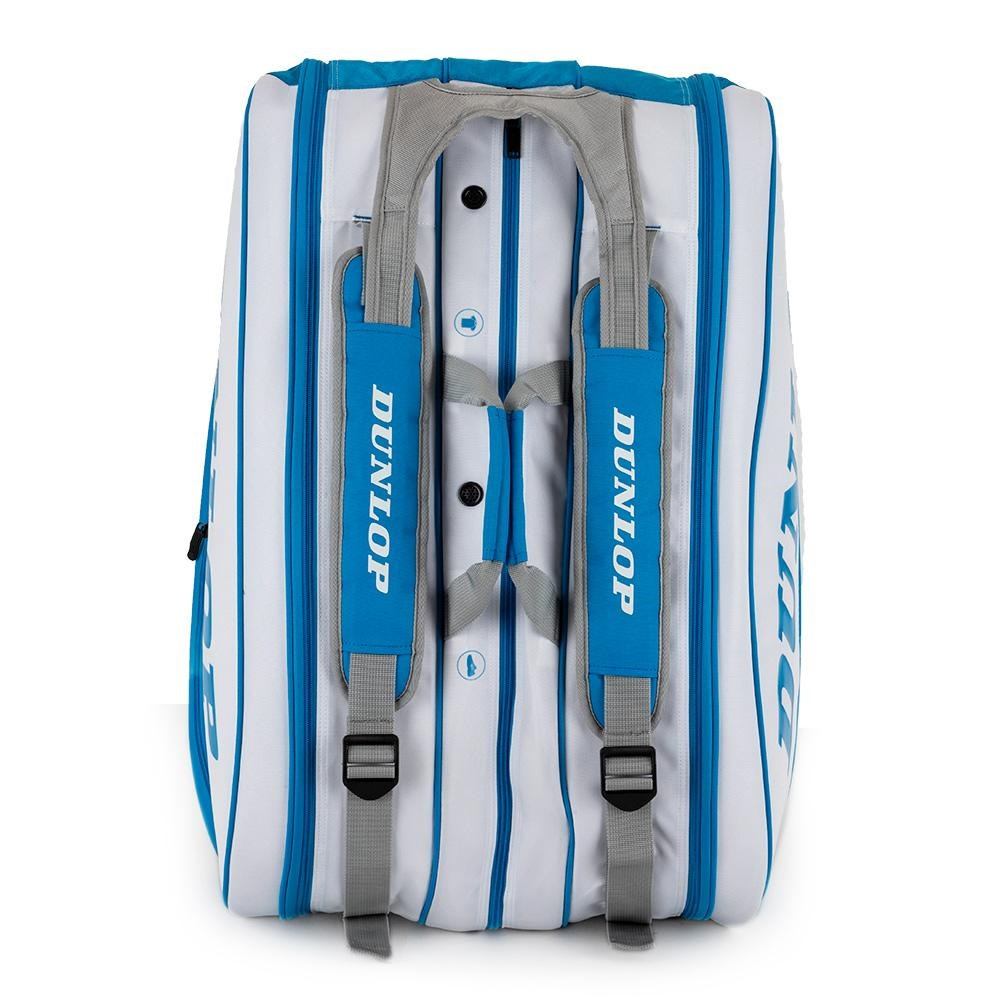 Dunlop 15 Pack Thermo Tennis Bag – Blue/White Melbourne Limited Edition