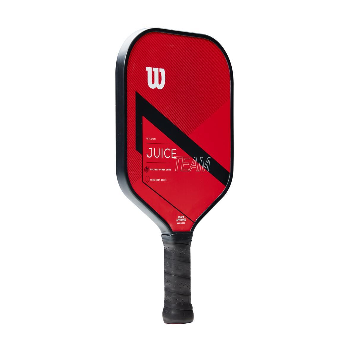 Wilson Juice Team Pickleball Paddle – Red